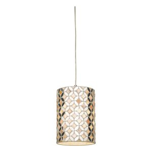 Acquila Easy Fit Pendant Mirror & Cream