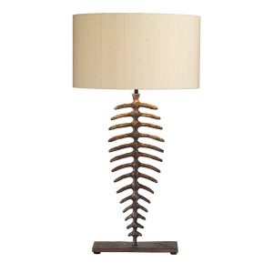 Angler Table Lamp Bronze Base Only
