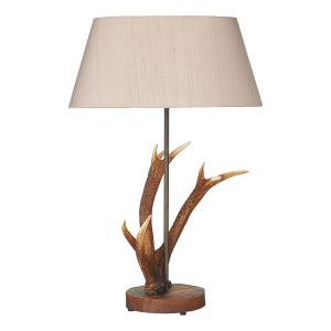 Antler Small Table Lamp Base Only