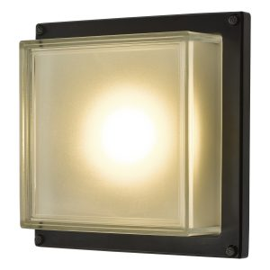 Aquilina Wall Light Matt Black LED IP44
