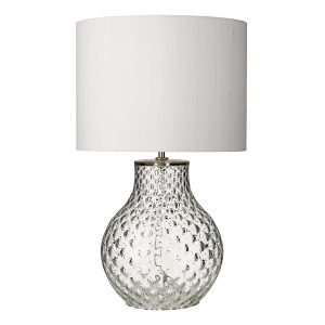 AZORES Small Clear Table Lamp Base Only