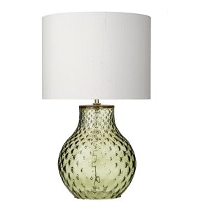 AZORES Small Olive Green Table Lamp Base Only