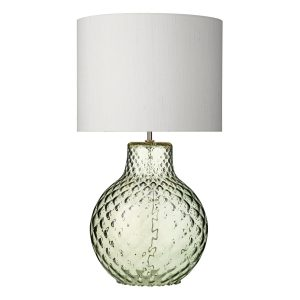 AZORES Large Green Table Lamp Base Only