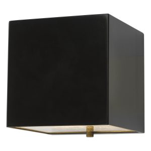 Bacchus Wall Matt Black LED IP44