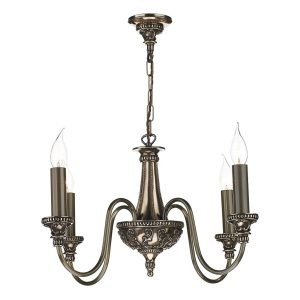 Bailey 4 Light Chandelier Bronze