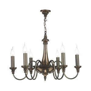 Bailey 6 Light Pendant Bronze