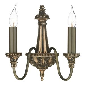 Bailey 2 Light Wall Light Bronze