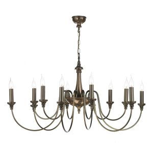 Bailey 12 Light Pendant Bronze