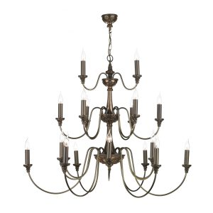 Bailey 21 Light Pendant Bronze