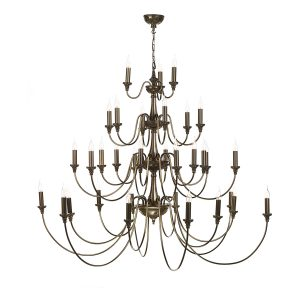 Bailey 33 Light Chandelier Bronze