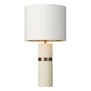 Band Table Lamp Stone Base Only