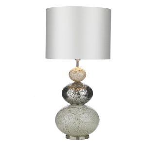 BOAVISTA Table Lamp Vulkanic White/Multi Base Only