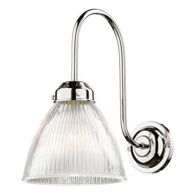 Cambridge Wall Light Chrome complete with Glass
