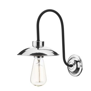 Dallas 1 Light Wall Light Polished Chrome