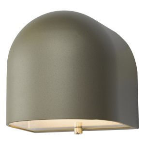 Egham Wall Light Silver LED IP44