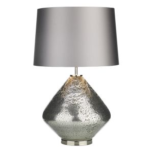 EVORA Silver Table Lamp Base Only
