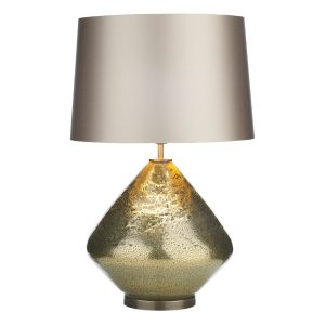 Evora Table Lamp Volcanic Gold Base Only