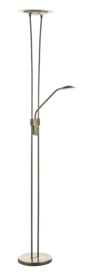 Hahn Floor Lamp Antique Brass LED