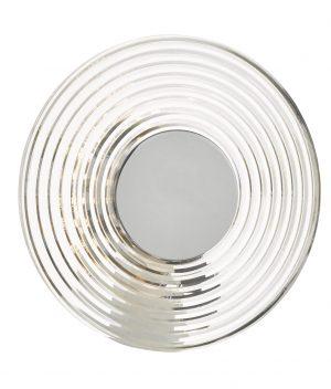 Hiero Wall Light Brushed Aluminium & Acrylic LED
