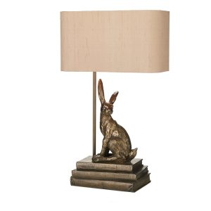 Hopper Table Lamp Bronze Base Only