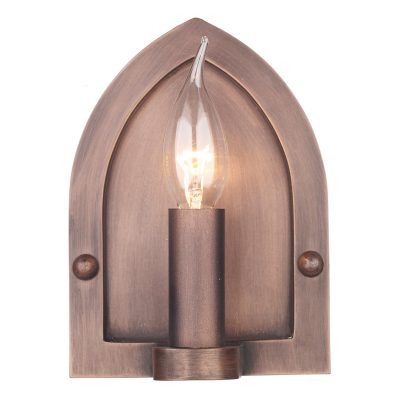 Lindisfarne Wall Light Copper