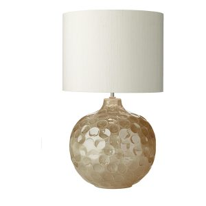 Odyssey Table Lamp Biscuit Dimpled Ceramic Base Only