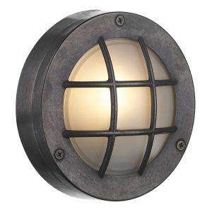 Pembroke Round Wall Light Oxidised IP44