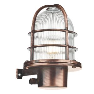 Pier Outdoor Wall Light Antique Copper IP64