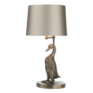 Puddle Table Lamp Bronze Base Only