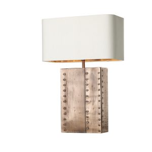 Rivet Table Lamp Copper Base Only