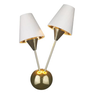 Sputnik Wall Light Brass Style Finish