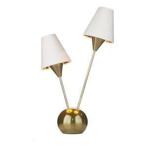 Sputnik Table Lamp Brass Style Finish