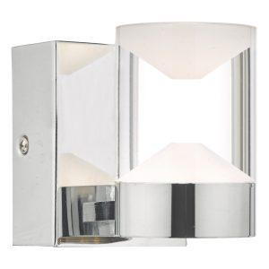 Susa W/Lt Polished Chrome & Acrylic LED Bathroom IP44
