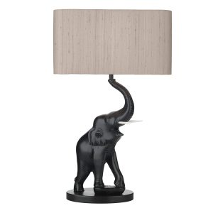 Tantor Table Lamp Black Base Only