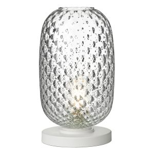 Vidro Table Lamp Clear Glass Large