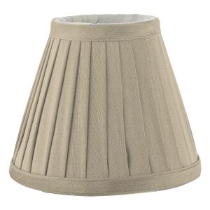Yovanna Pleated Shade 15cm Taupe