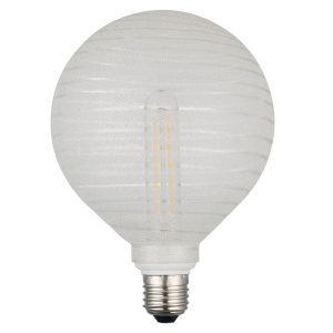 Frosted Spiral LED Dimmable Pendant Kit
