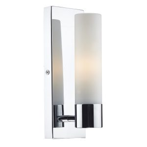 Adagio 1 Light Wall Bracket Polished Chrome IP44