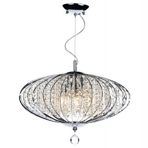 Adriatic 5 Light Pendant Polished Chrome