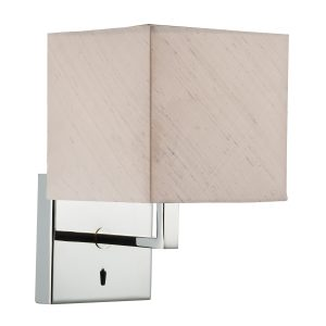 Anvil Wall Bracket Fixed Arm Base Only Polished Chrome