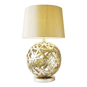 Balthazar Table Lamp C/W Shade Bronze