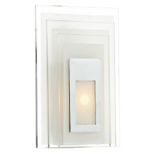 Binary 3W LED Glass Wall Bracket