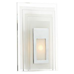 Binary 3W LED Glass Wall Bracket