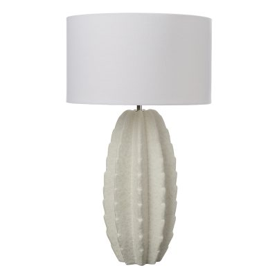 Cipriano Table Lamp White Ceramic Base Only