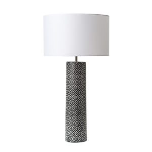 Ego Table Lamp Black & White Base Only