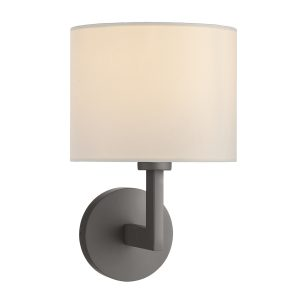 Ferrara Wall Bracket Round With Square Arm Bronze Base Only