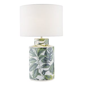 Filip Table Lamp Green Base Only