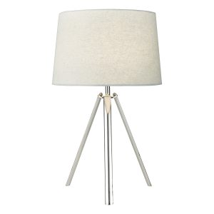 Griffith Table Lamp Pol Chr Cw Shd