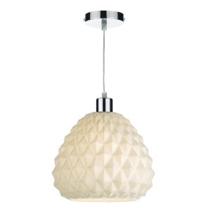 Hettie Easy Fit Pendant White