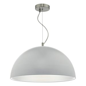 Jarama 1lt Pendant Grey & Silver